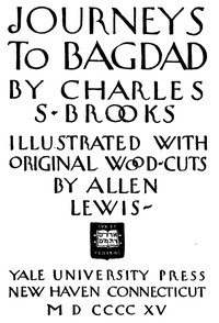Cover of Journeys to Bagdad