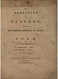 No Abolition of SlaveryOr the Universal Empire of Love, A poem