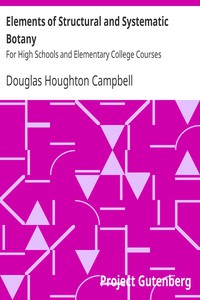 Cover of Elements of Structural and Systematic BotanyFor High Schools and Elementary College Courses