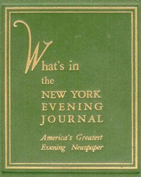 What's in the New York Evening JournalAmerica's Greatest Evening Newspaper