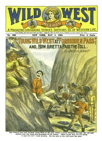 """Cover of Young Wild West at """"Forbidden Pass""""and, How Arietta Paid the Toll"""