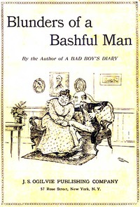 Cover of The Blunders of a Bashful Man