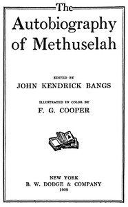 Cover of The Autobiography of Methuselah