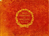 Cover of Exercises in Knitting