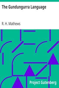 Cover of The Gundungurra Language