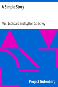 Cover of A Simple Story