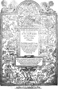 Cover of The Mathematicall Praeface to Elements of Geometrie of Euclid of Megara