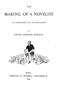 The Making Of A NovelistAn Experiment In Autobiography