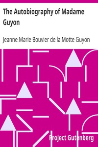 Cover of The Autobiography of Madame Guyon