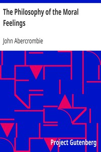 Cover of The Philosophy of the Moral Feelings
