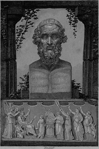 Cover of The Iliad of Homer (1873)