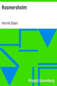 Cover of Rosmersholm