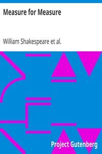 Measure for MeasureThe Works of William Shakespeare [Cambridge Edition] [9 vols.]