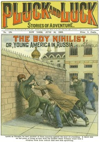 Cover of The Boy Nihilistor, Young America in Russia