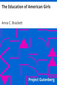 Cover of The Education of American Girls