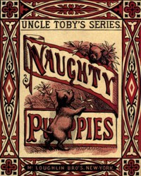 Cover of Naughty Puppies