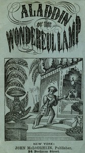 Cover of Aladdin or The Wonderful Lamp
