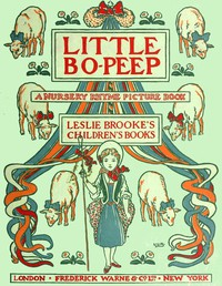Cover of Little Bo-Peep: A Nursery Rhyme Picture Book