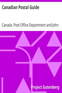 Canadian Postal Guide