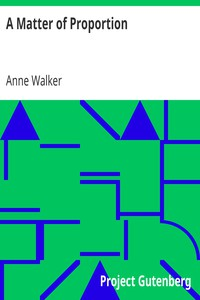 Cover of A Matter of Proportion