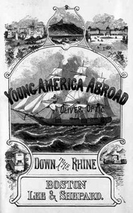 Cover of Down the Rhine; Or, Young America in Germany