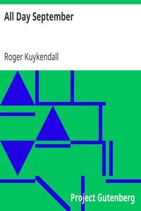 Cover of All Day September