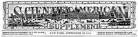 Cover of Scientific American Supplement, No. 664, September 22,1888