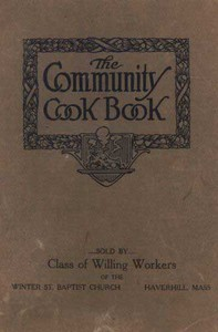 Cover of The Community Cook Book