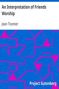 Cover of An Interpretation of Friends Worship