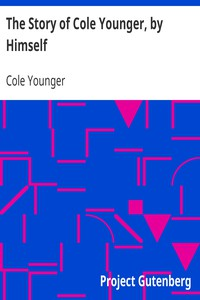 Cover of The Story of Cole Younger, by Himself