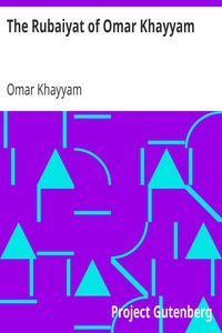 Cover of The Rubaiyat of Omar Khayyam