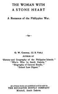 Cover of The Woman with a Stone HeartA Romance of the Philippine War