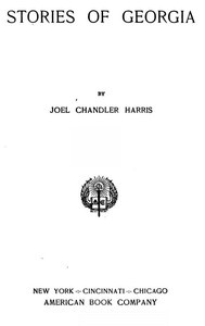 Cover of Stories Of Georgia