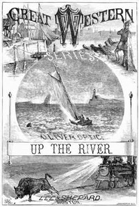 Cover of Up the River; or, Yachting on the Mississippi