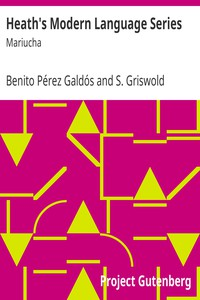 Cover of Heath's Modern Language Series: Mariucha