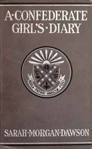 Cover of A Confederate Girl's Diary