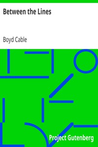 Cover of Between the Lines