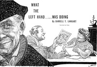 Cover of What The Left Hand Was Doing