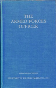 The Armed Forces OfficerDepartment of the Army Pamphlet 600-2