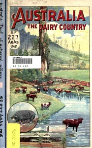 Cover of Australia, The Dairy Country