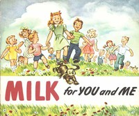 Cover of Milk for You and Me