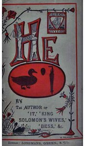Cover of He