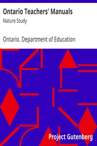 Cover of Ontario Teachers' Manuals: Nature Study