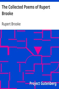 Cover of The Collected Poems of Rupert Brooke