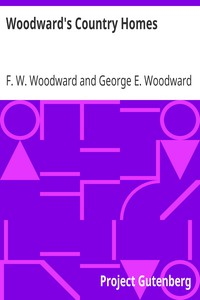 Cover of Woodward's Country Homes