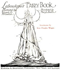 Cover of Laboulaye's Fairy Book