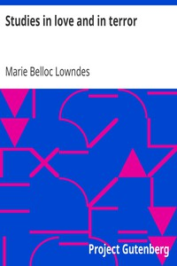 Cover of Studies in love and in terror