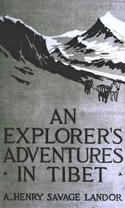 Cover of An Explorer's Adventures in Tibet