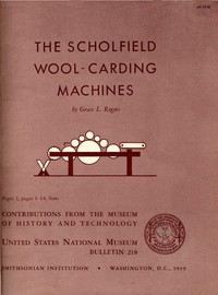 The Scholfield Wool-Carding Machines