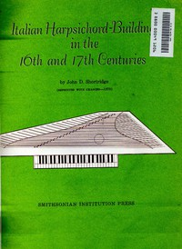 Cover of Italian Harpsichord-Building in the 16th and 17th Centuries